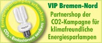 Button zum VIP Bremen-NordPartnershop CO2-Kampagne