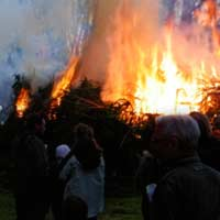 Osterfeuer Vegesack